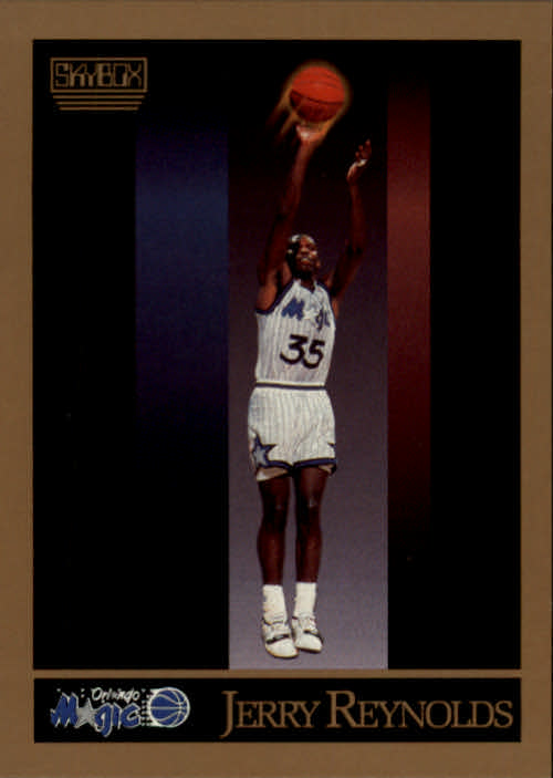 1990-91 SkyBox #204 Jerry Reynolds