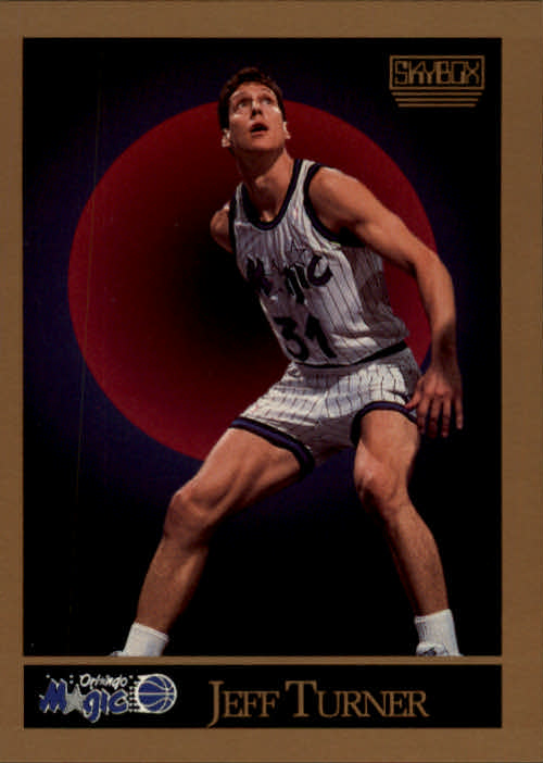 1990-91 SkyBox #208 Jeff Turner