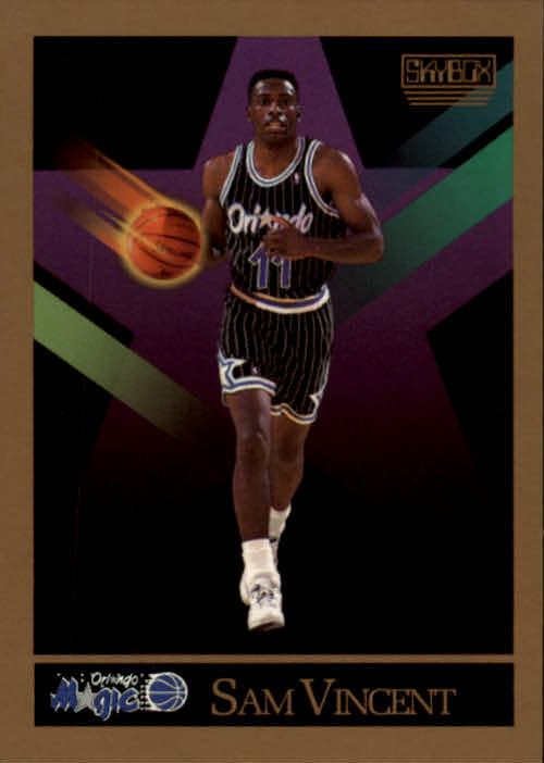 1990-91 SkyBox #209 Sam Vincent