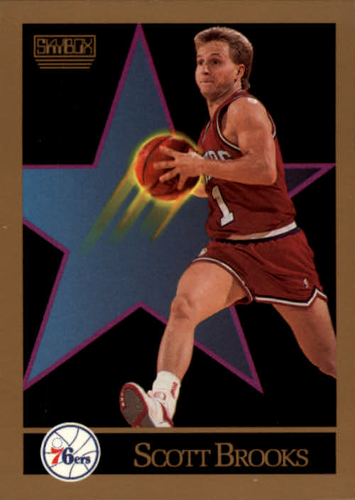 1990-91 SkyBox #212 Scott Brooks SP
