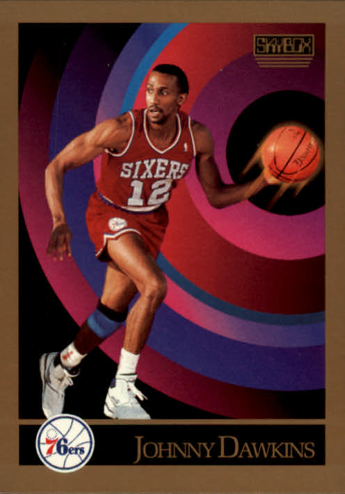 1990-91 SkyBox #214 Johnny Dawkins