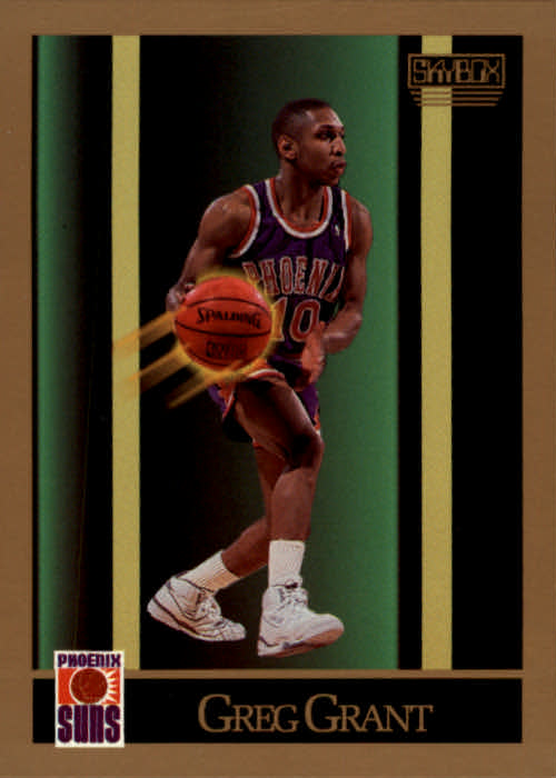 1990-91 SkyBox #221 Greg Grant SP RC