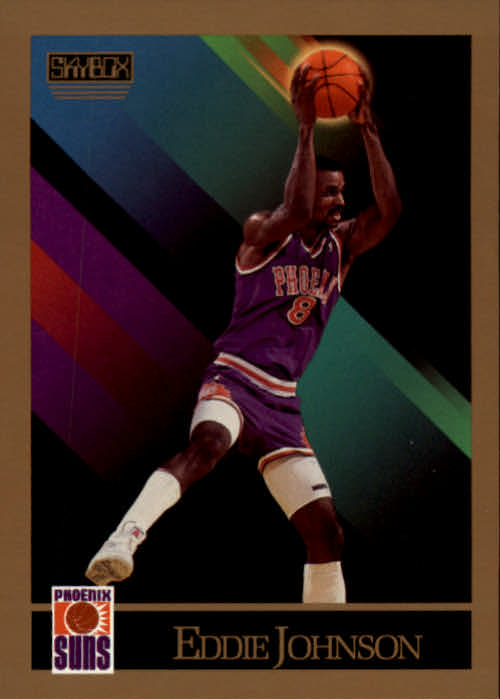 1990-91 SkyBox #223 Eddie Johnson