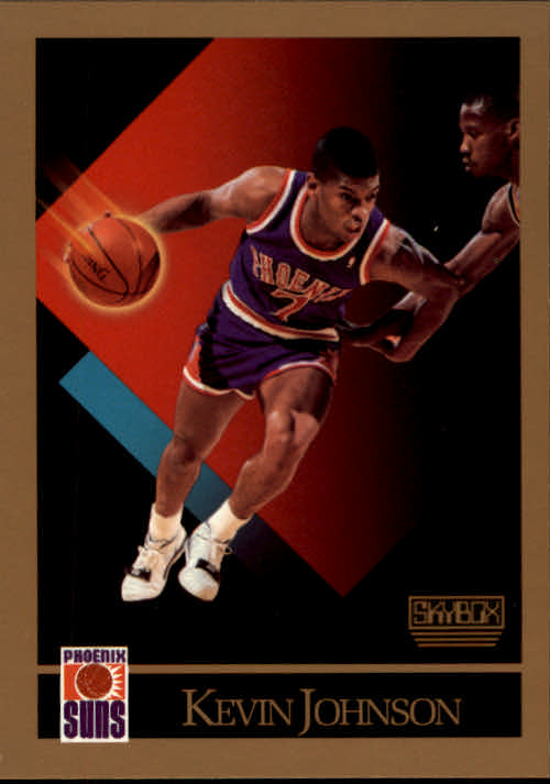 1990-91 SkyBox #224A Kevin Johnson/(SkyBox logo in lower right corner)