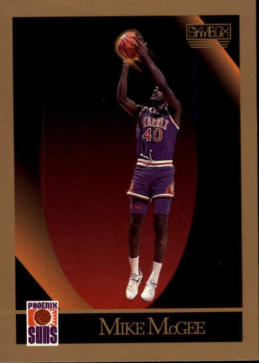 1990-91 SkyBox #227 Mike McGee SP