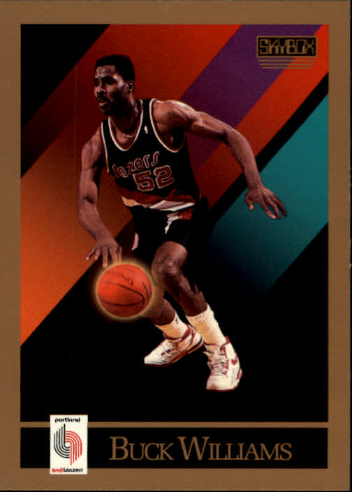 1990-91 SkyBox #240 Buck Williams