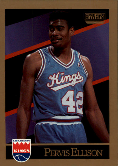 1990-91 SkyBox #246 Pervis Ellison SP RC