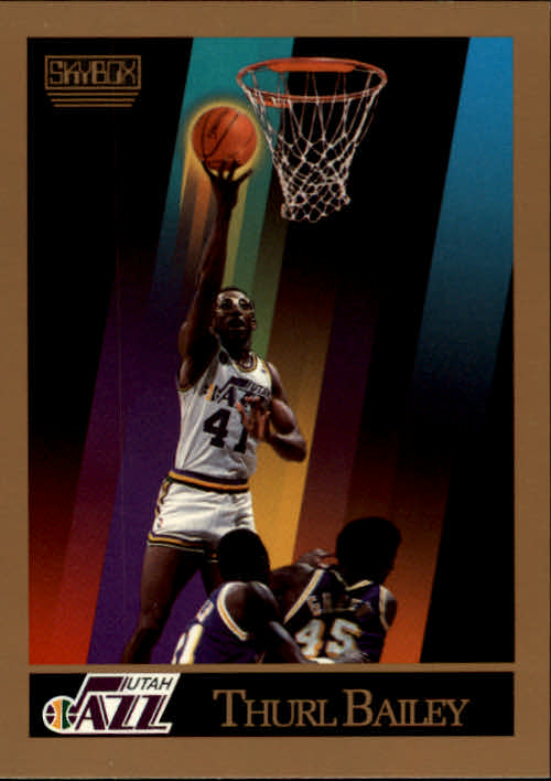 1990-91 SkyBox #274 Thurl Bailey