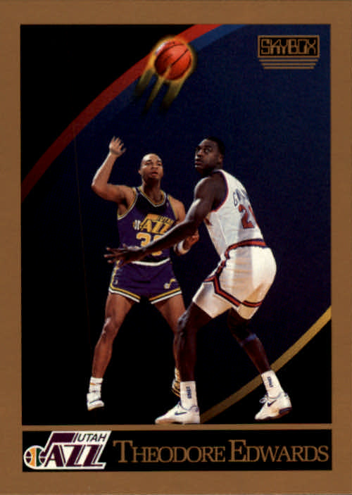 1990-91 SkyBox #277 Blue Edwards RC