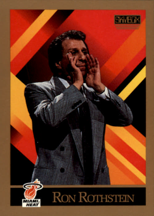 1990-91 SkyBox #314 Ron Rothstein CO