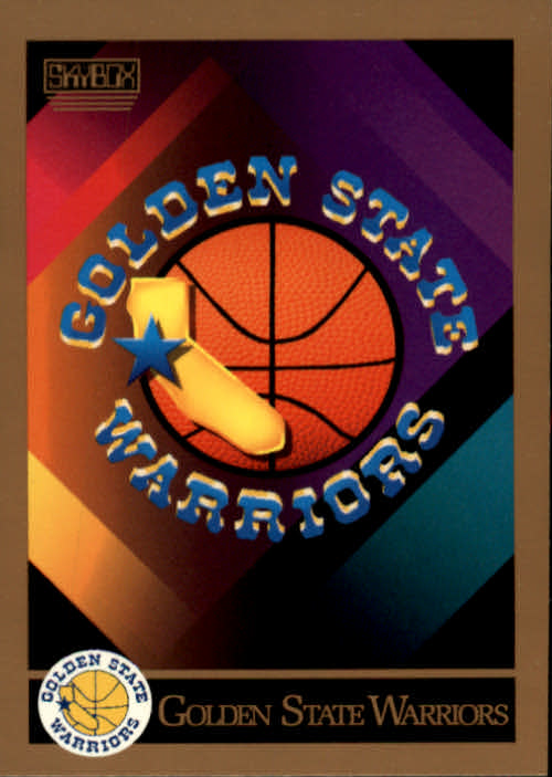 1990-91 SkyBox #336 Golden State Warriors TC