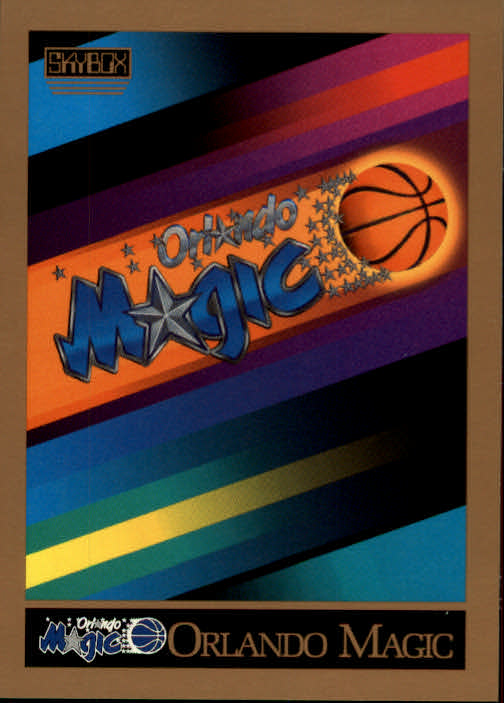 1990-91 SkyBox #346 Orlando Magic TC