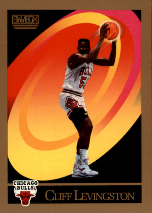 1990-91 SkyBox #372 Cliff Levingston