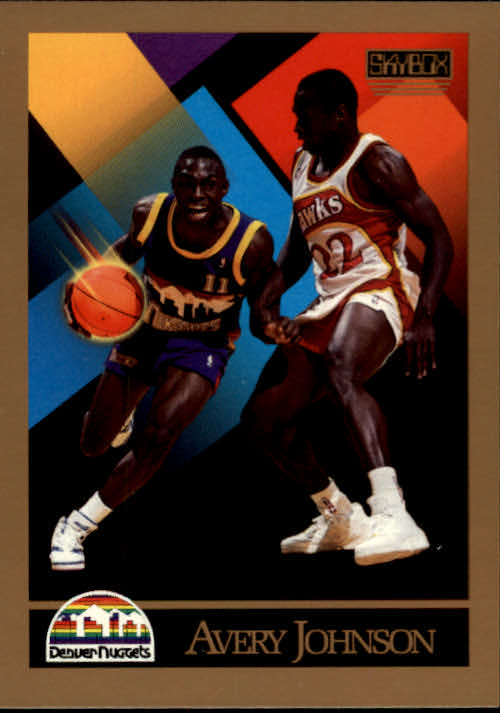1990-91 SkyBox #380 Avery Johnson RC