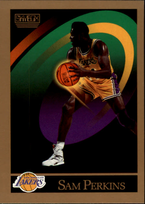 1990-91 SkyBox #391 Sam Perkins