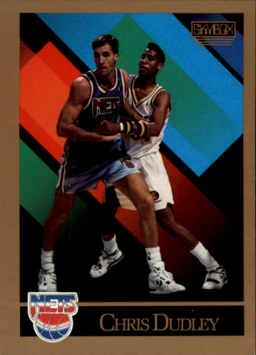1990-91 SkyBox #398 Chris Dudley RC
