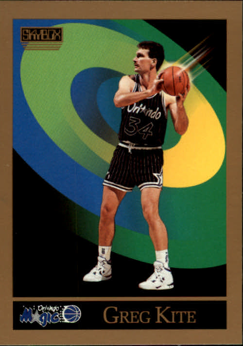 1990-91 SkyBox #401 Greg Kite
