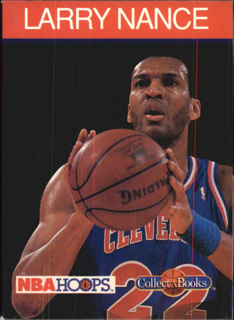 1990-91 Hoops CollectABooks #18 Larry Nance