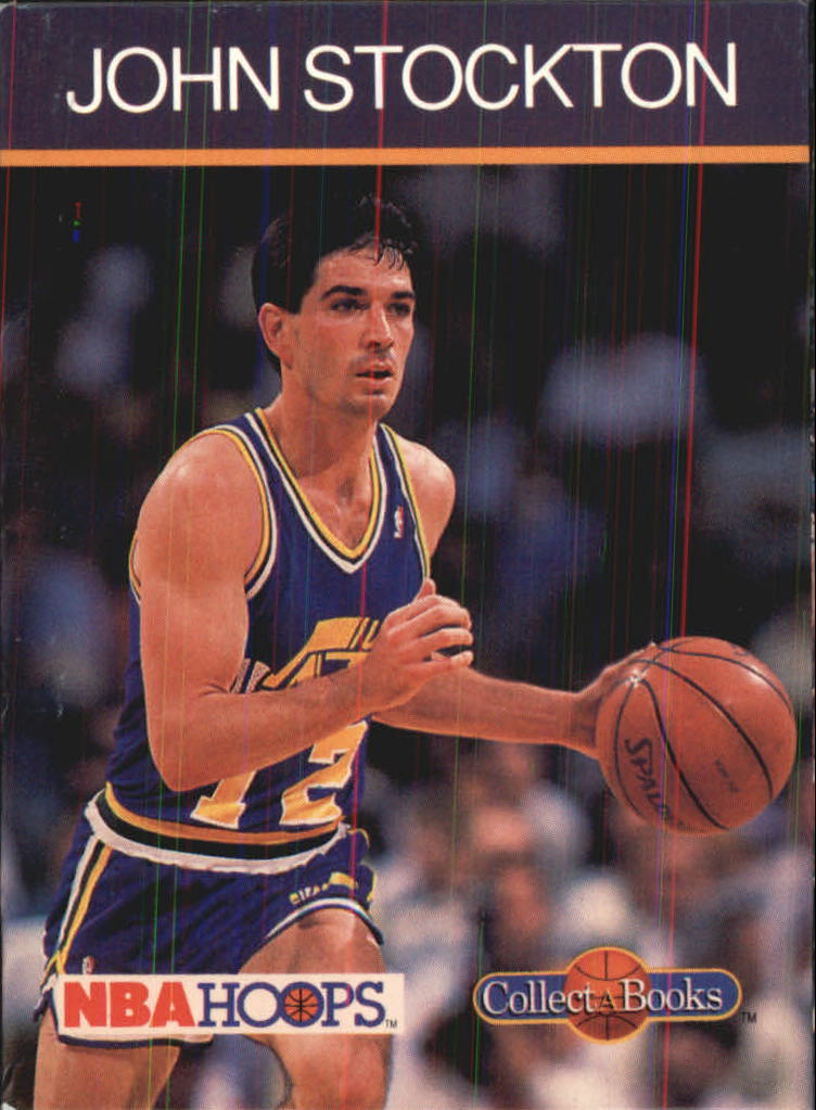 1990-91 Hoops CollectABooks #22 John Stockton
