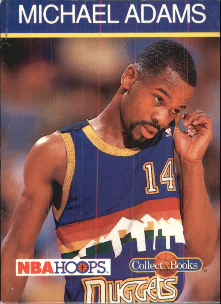 1990-91 Hoops CollectABooks #25 Michael Adams
