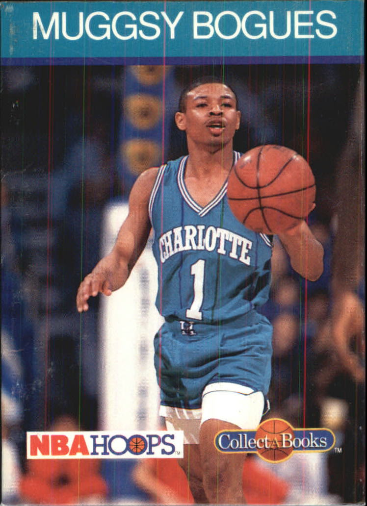1990-91 Hoops CollectABooks #26 Muggsy Bogues