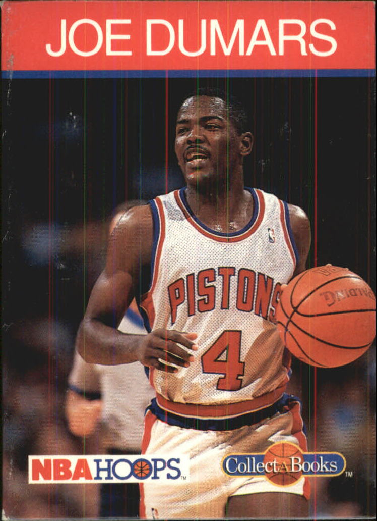 1990-91 Hoops CollectABooks #27 Joe Dumars