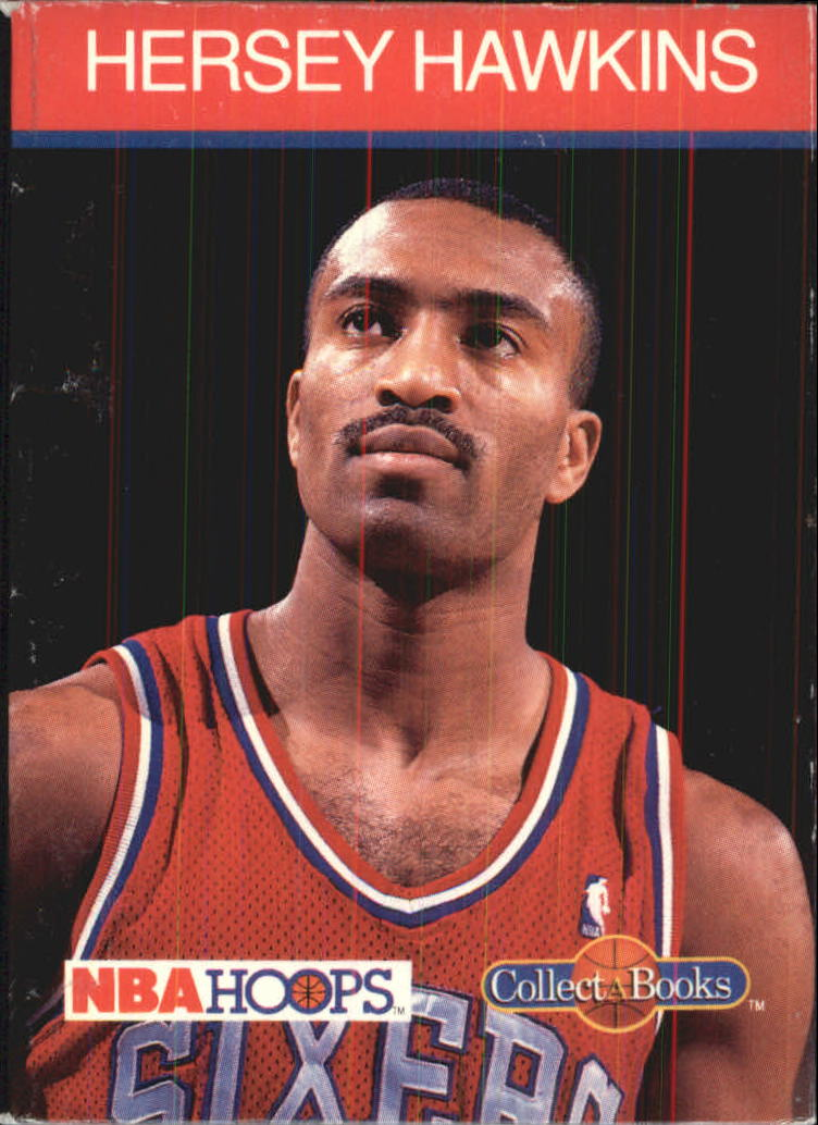 1990-91 Hoops CollectABooks #28 Hersey Hawkins