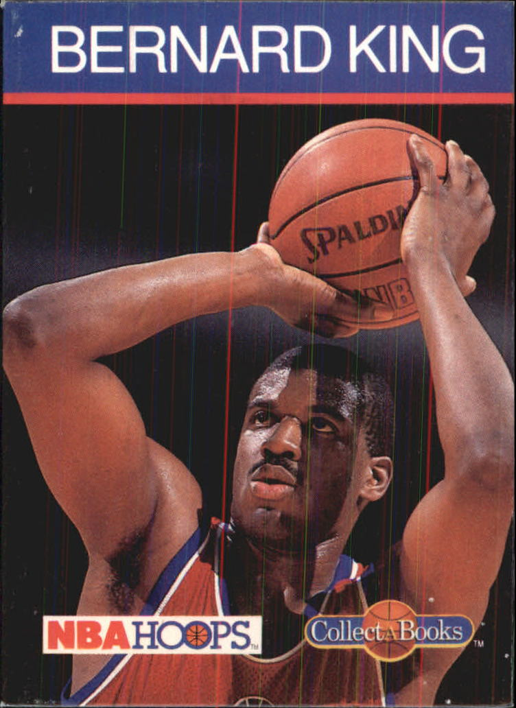 1990-91 Hoops CollectABooks #30 Bernard King