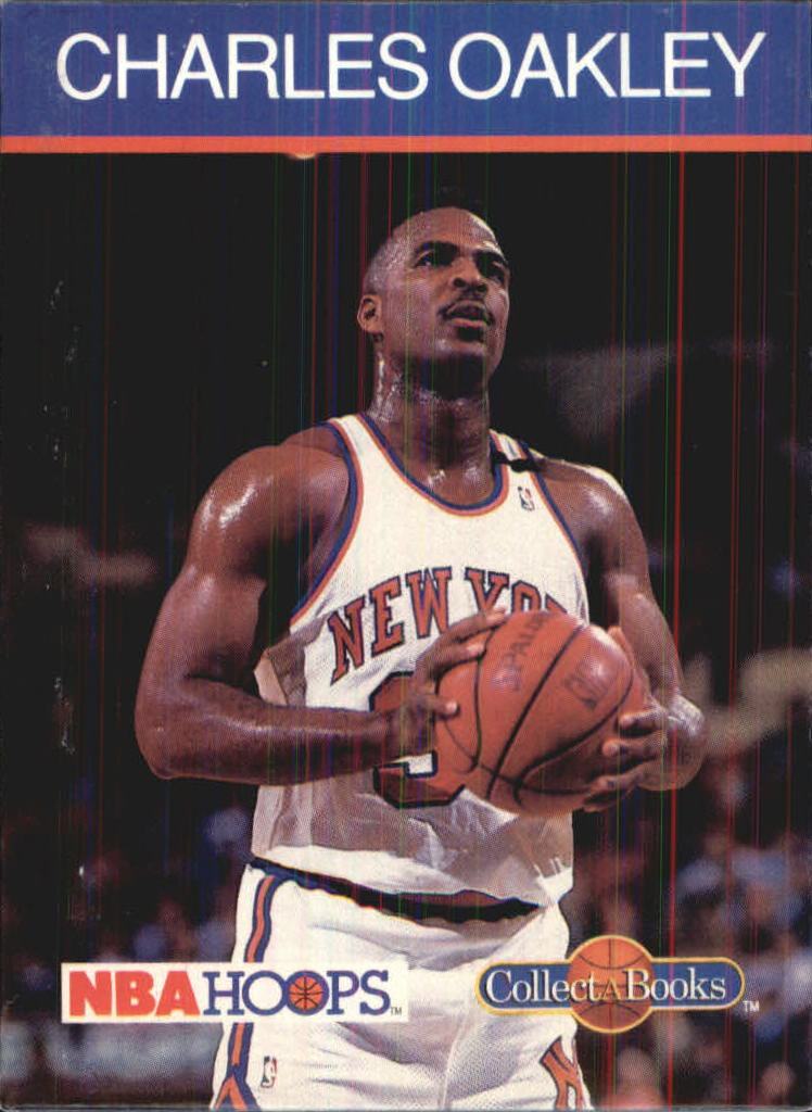 1990-91 Hoops CollectABooks #32 Charles Oakley