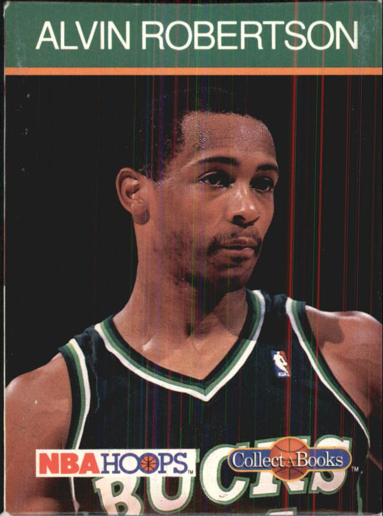 1990-91 Hoops CollectABooks #33 Alvin Robertson