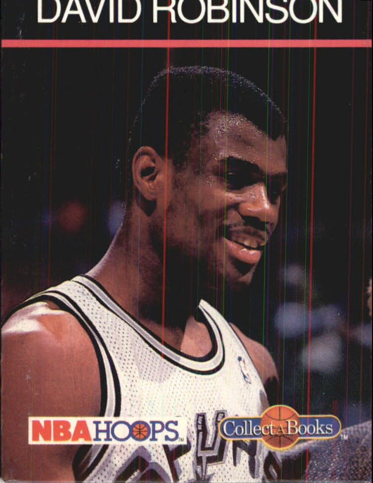 1990-91 Hoops CollectABooks #34 David Robinson
