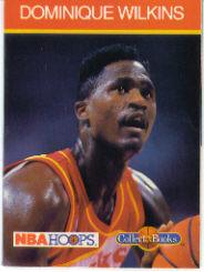 1990-91 Hoops CollectABooks #35 Dominique Wilkins