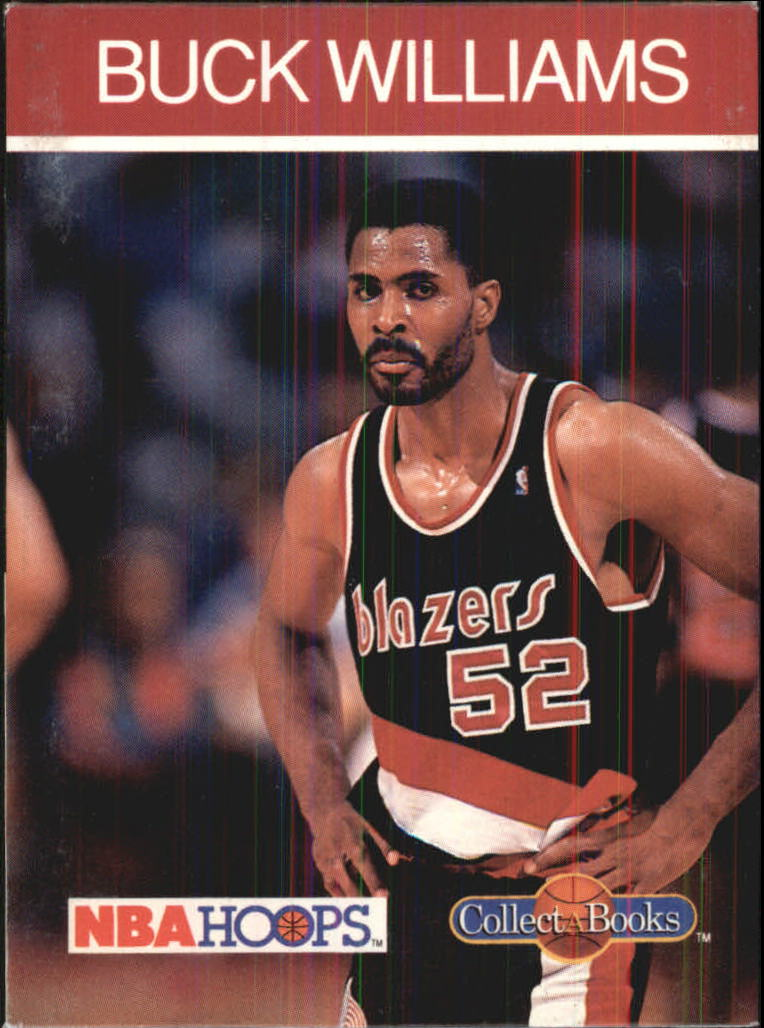 1990-91 Hoops CollectABooks #36 Buck Williams