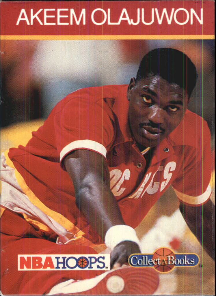 1990-91 Hoops CollectABooks #43 Hakeem Olajuwon