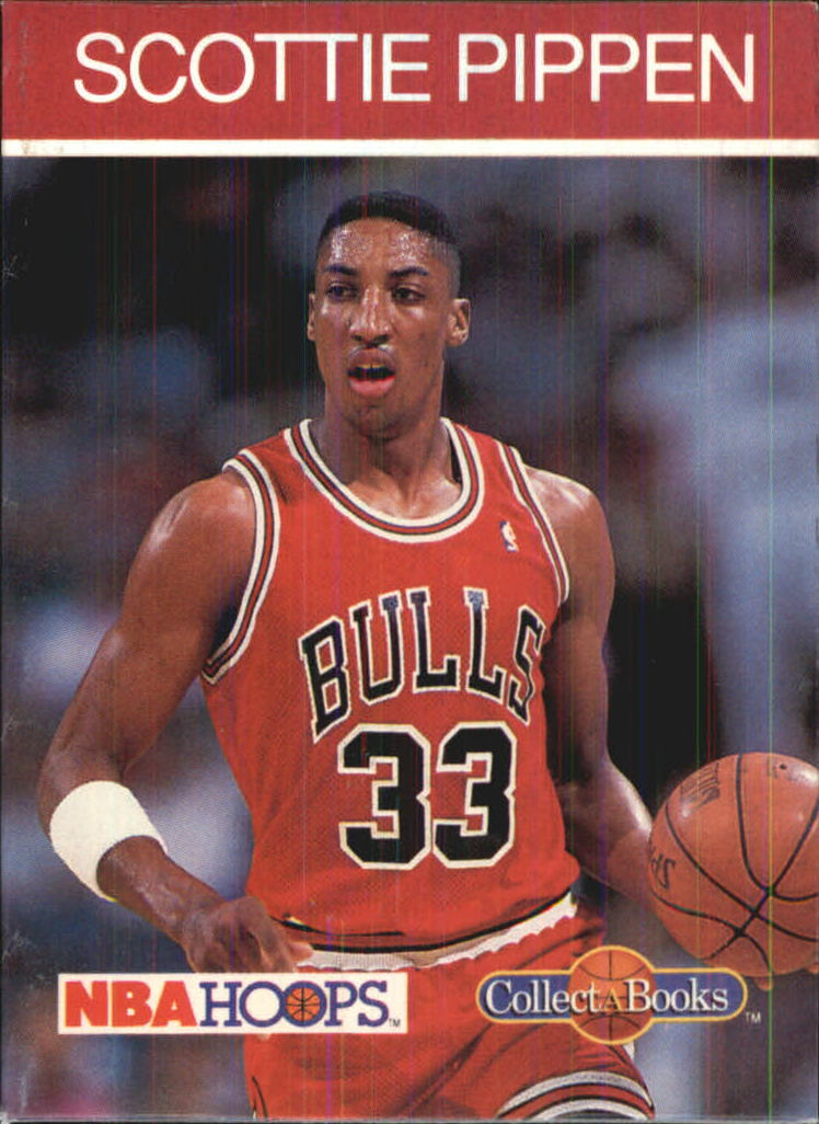 1990-91 Hoops CollectABooks #44 Scottie Pippen