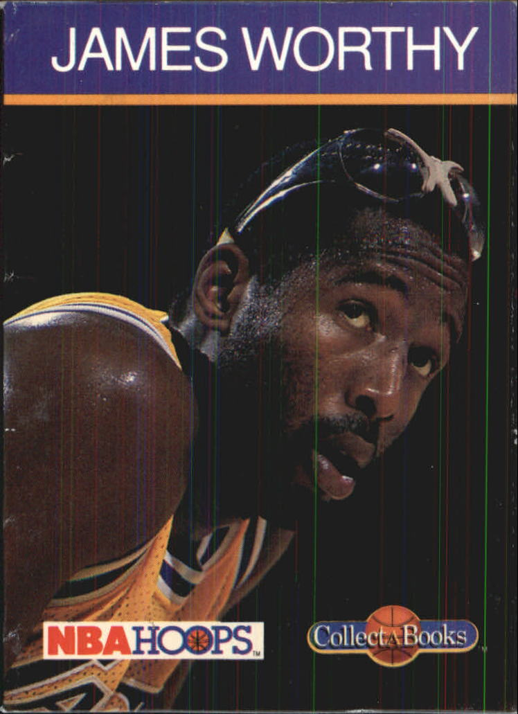 1990-91 Hoops CollectABooks #48 James Worthy