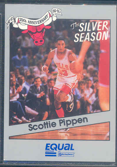 1990-91 Bulls Equal/Star #12 Scottie Pippen