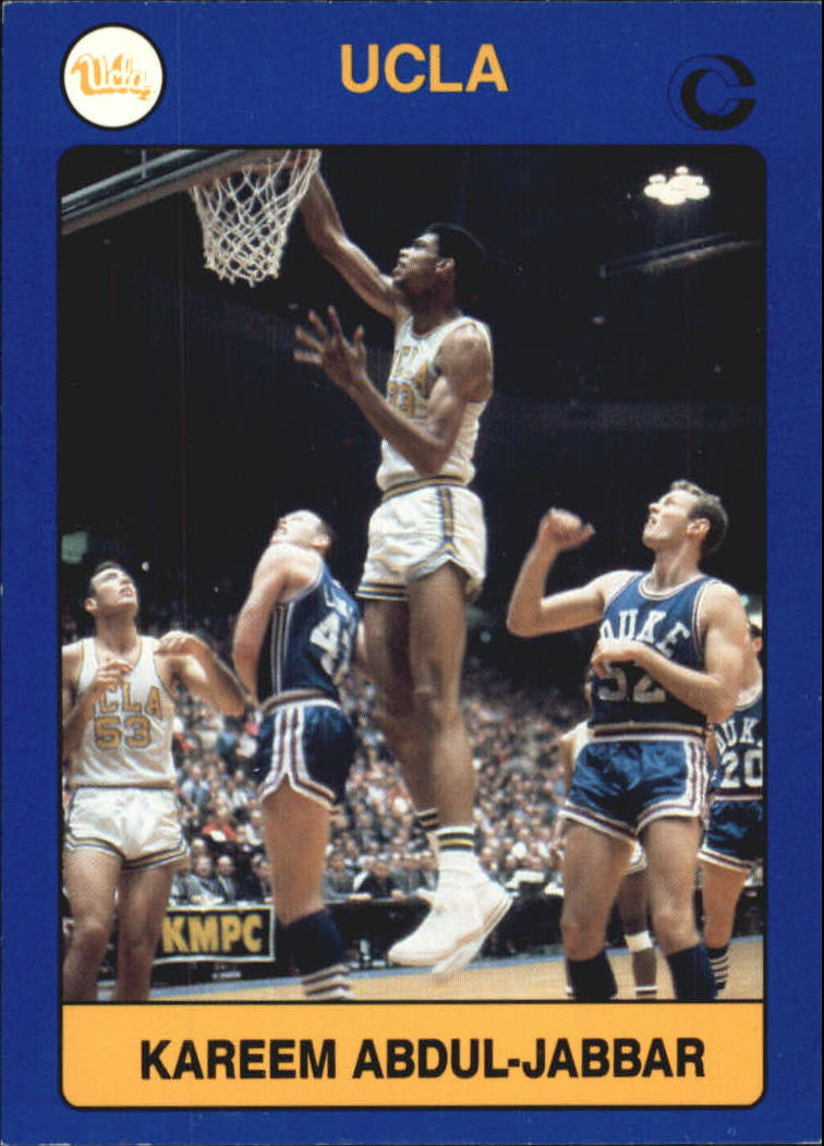 1991 UCLA Collegiate Collection #2A Kareem Abdul-Jabbar