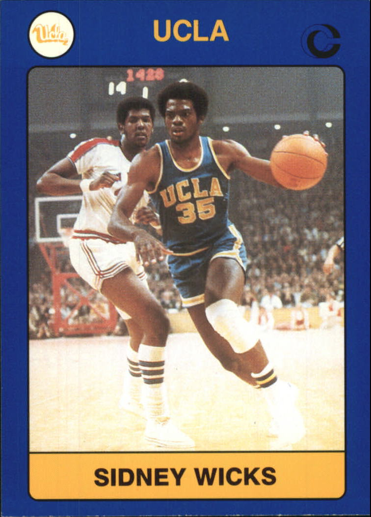 1991 UCLA Collegiate Collection #52 Sidney Wicks