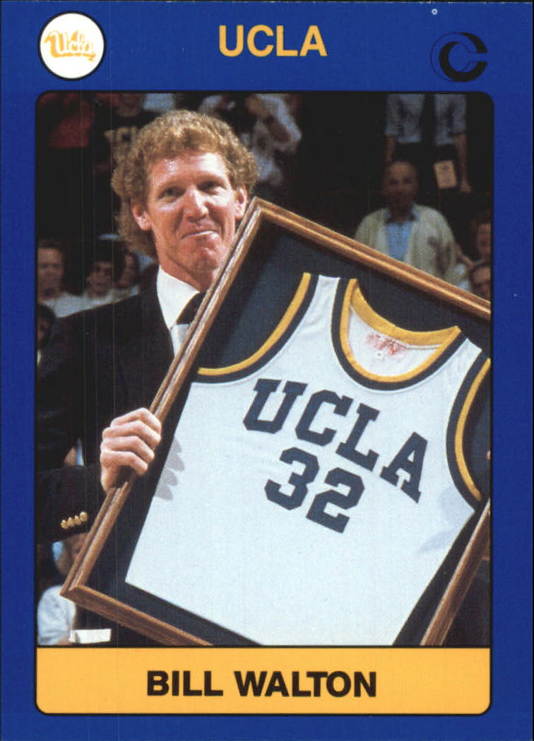 1991 UCLA Collegiate Collection #62 Bill Walton