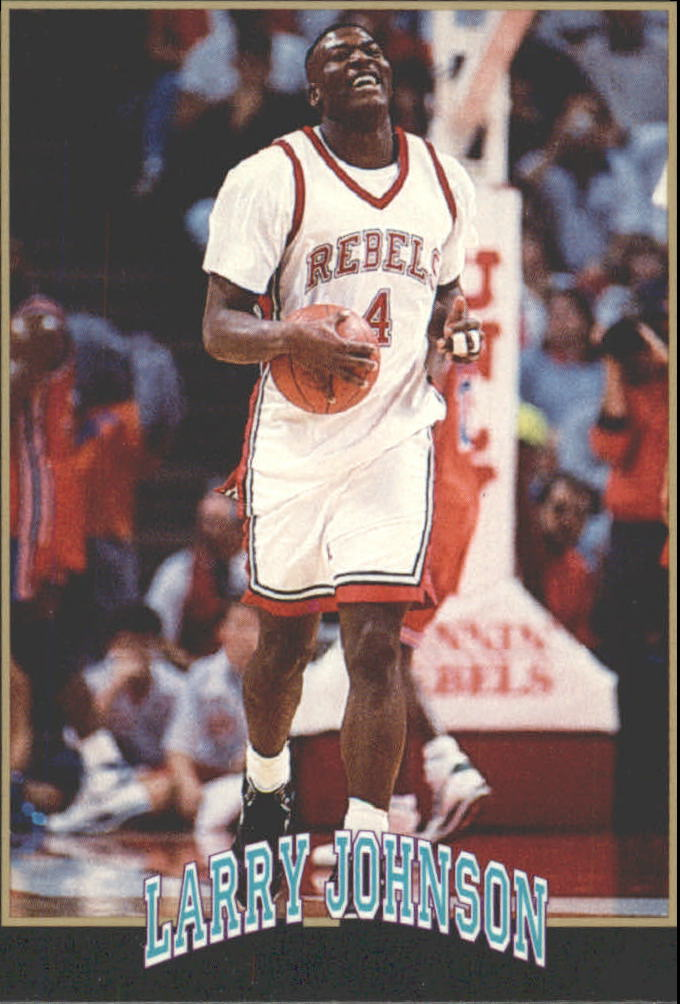 1991 Smokey's Larry Johnson #3 All American