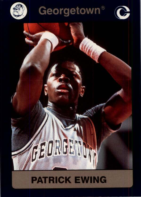 1991 Georgetown Collegiate Collection #49 Patrick Ewing
