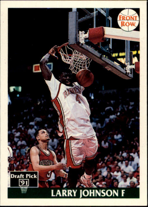 1991 Front Row #1 Larry Johnson