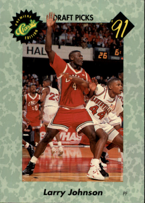 1991 Classic #1 Larry Johnson