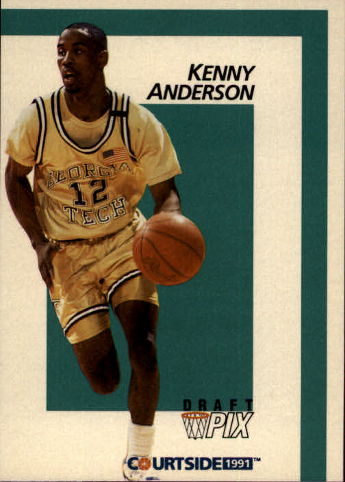 1991 Courtside #3 Kenny Anderson