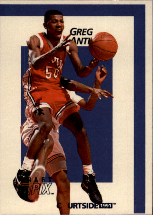 1991 Courtside #4 Greg Anthony