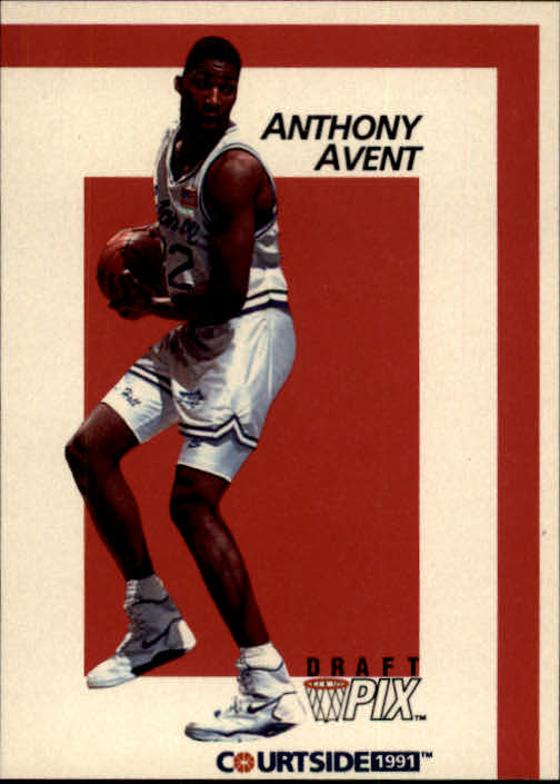 1991 Courtside #5 Anthony Avent