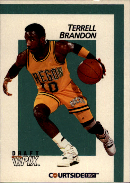 1991 Courtside #6 Terrell Brandon