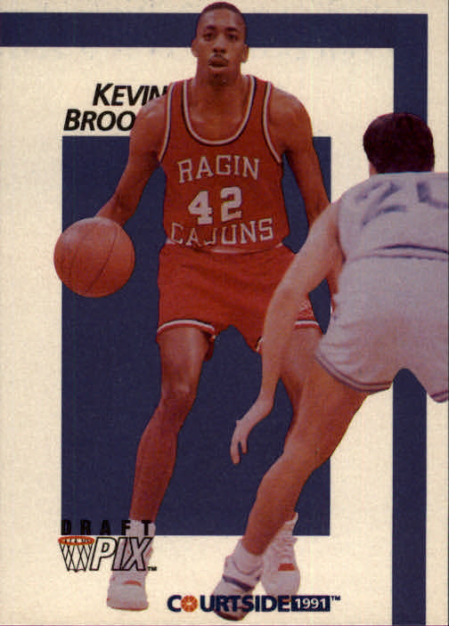 1991 Courtside #7 Kevin Brooks