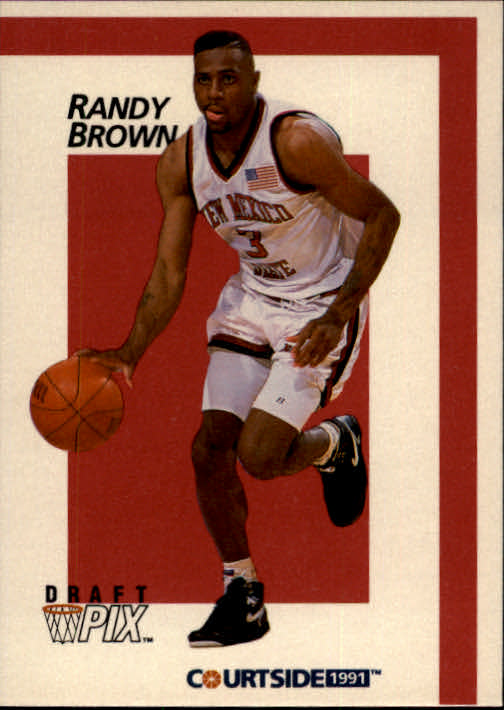 1991 Courtside #10 Randy Brown